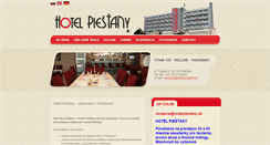 Preview of hotelpiestany.sk